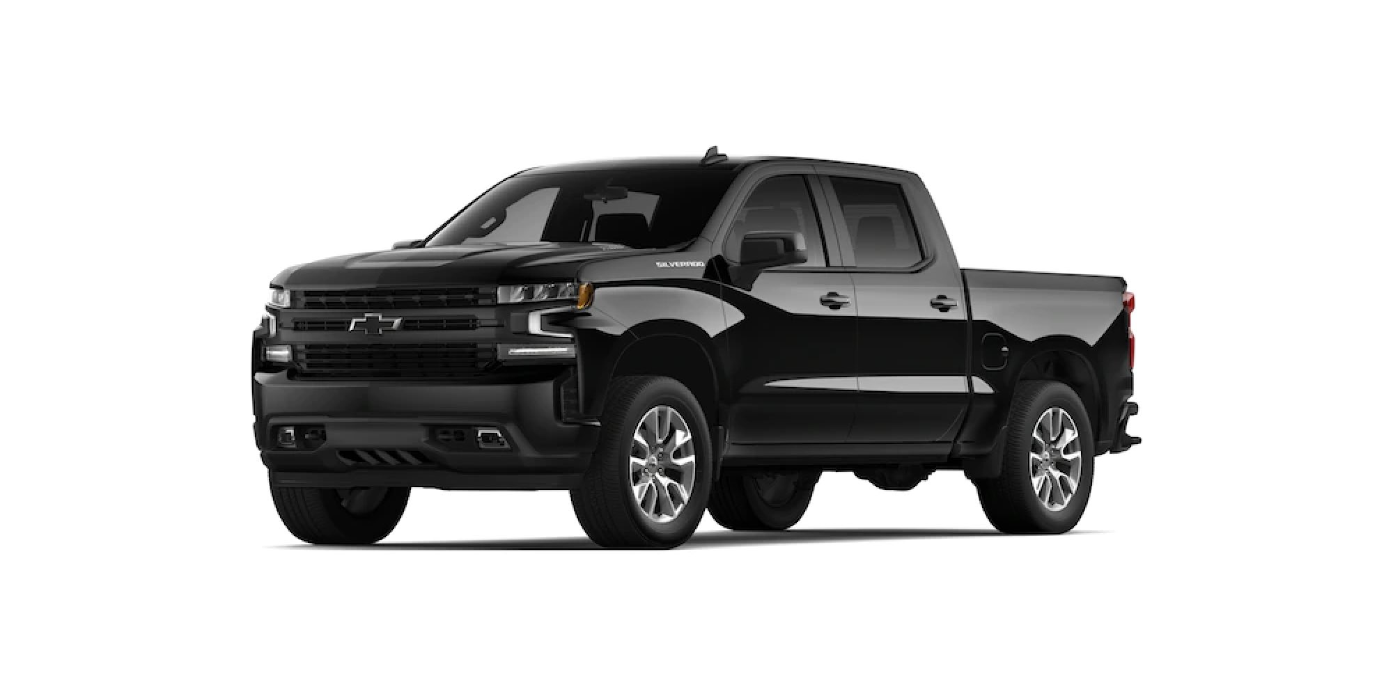 2021 Chevy SIlverado 1500 in Black