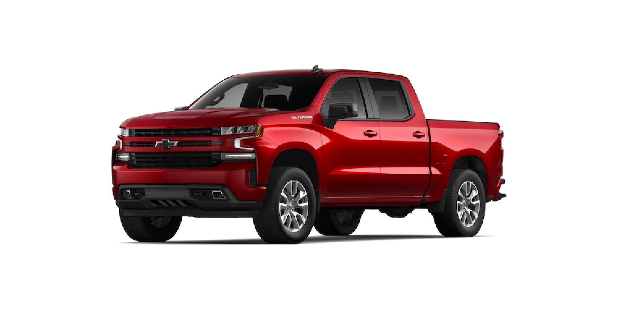 2021 Chevrolet Silverado in CHERRY RED TINTCOAT