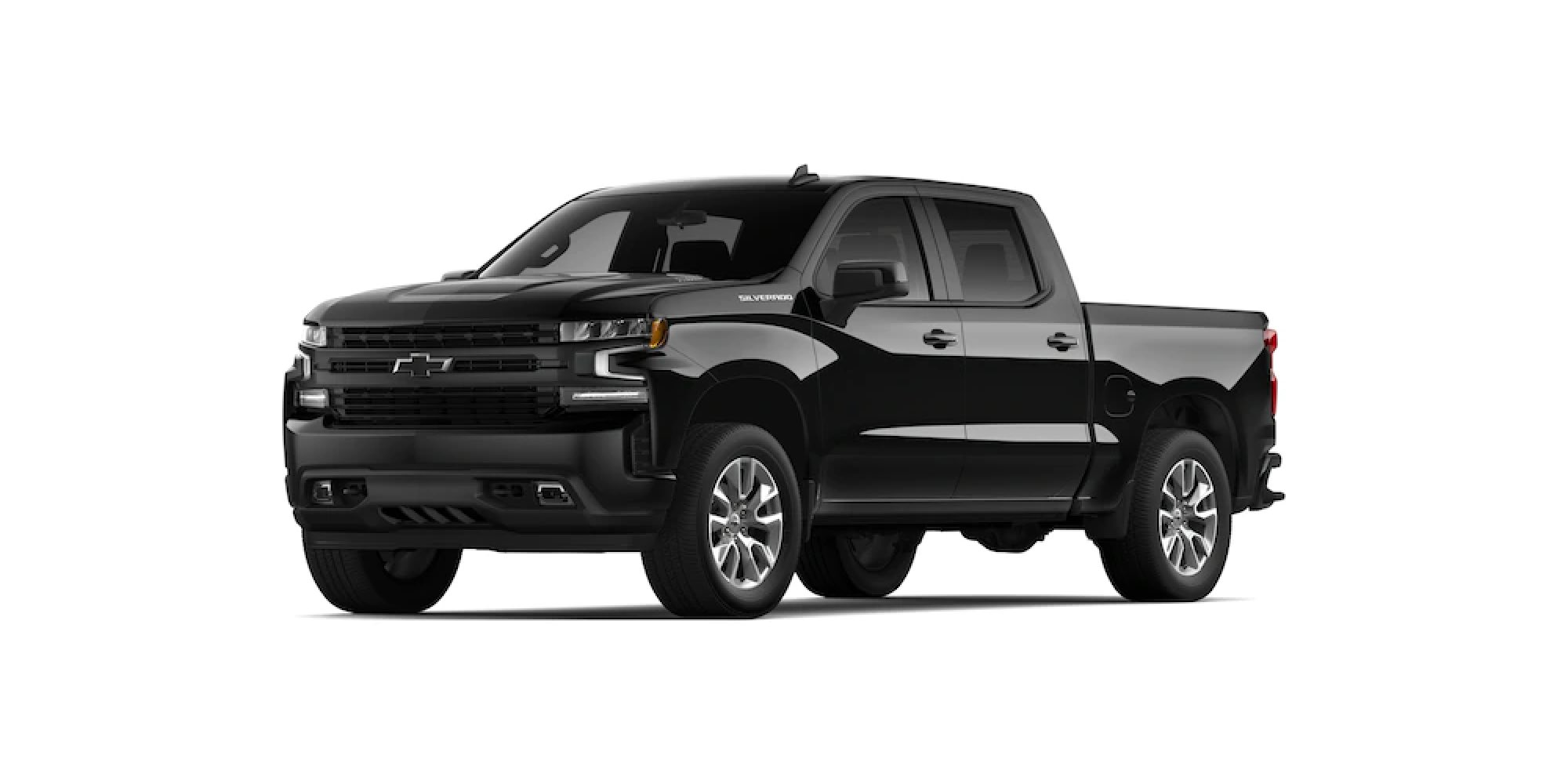 2021 Chevy Silverado 1500 in MOSAIC BLACK METALLIC