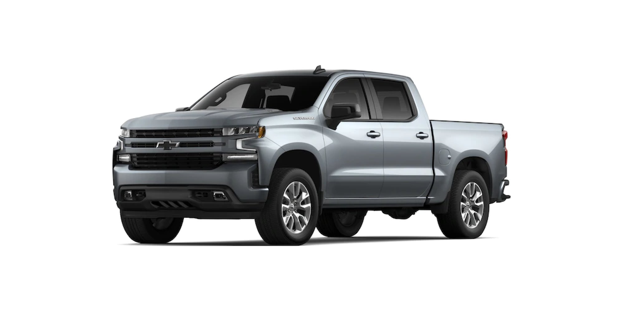 2021 Chevy Silverado 1500 in SATIN STEEL METALLIC