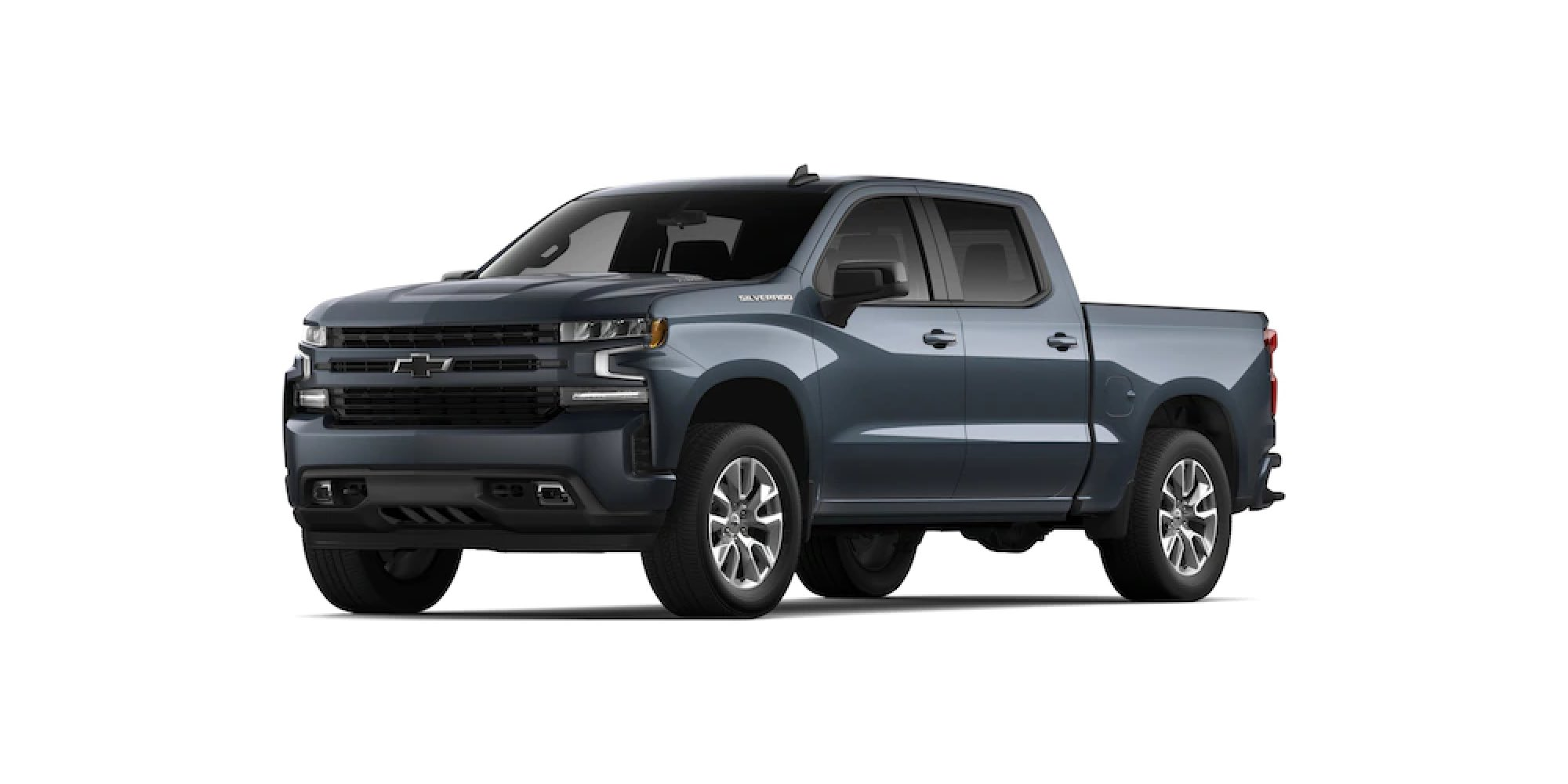 2021 Chevy Silverado 1500 in SHADOW GRAY METALLIC