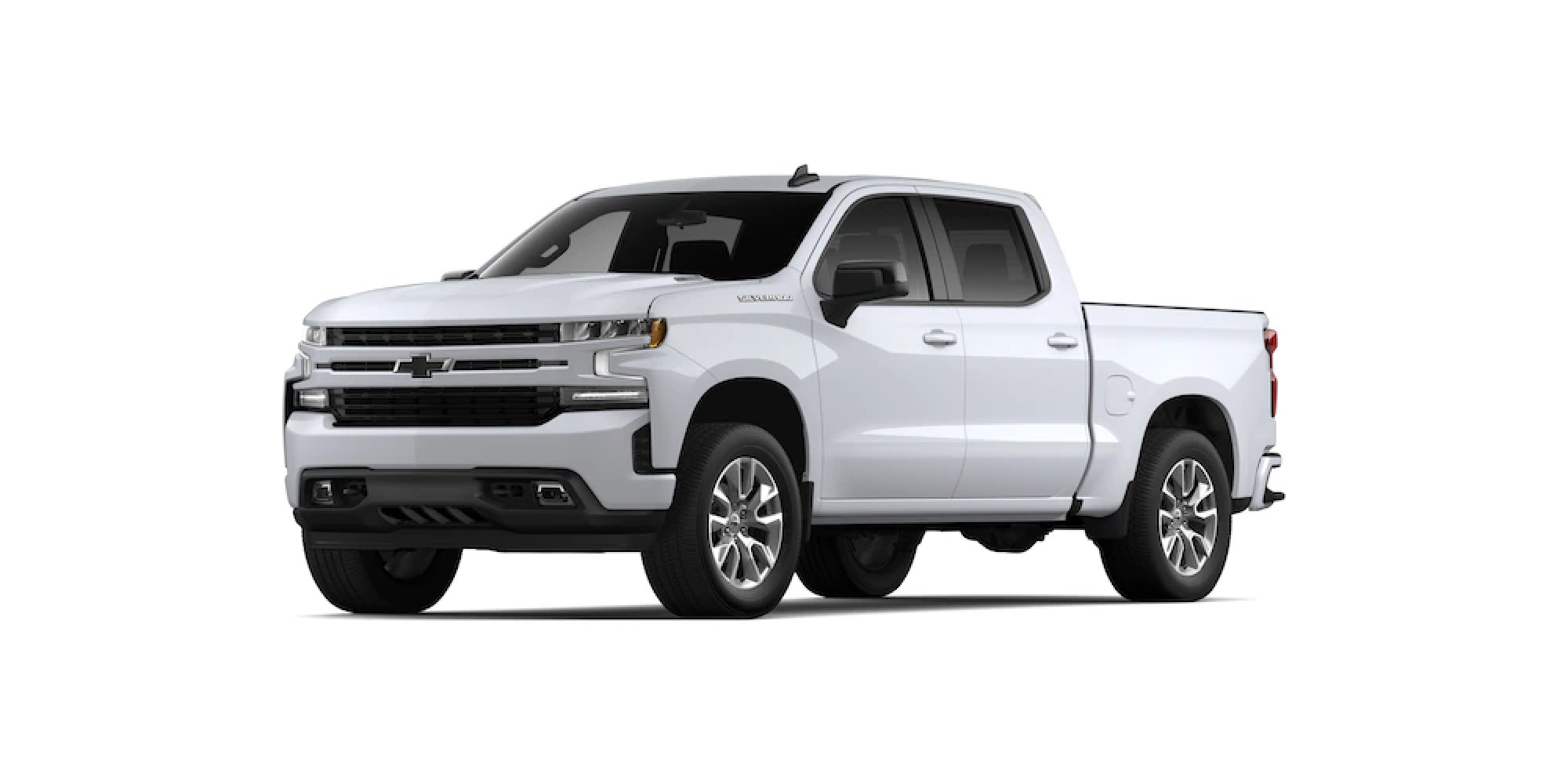 2021 Chevy Silverado in SUMMIT WHITE