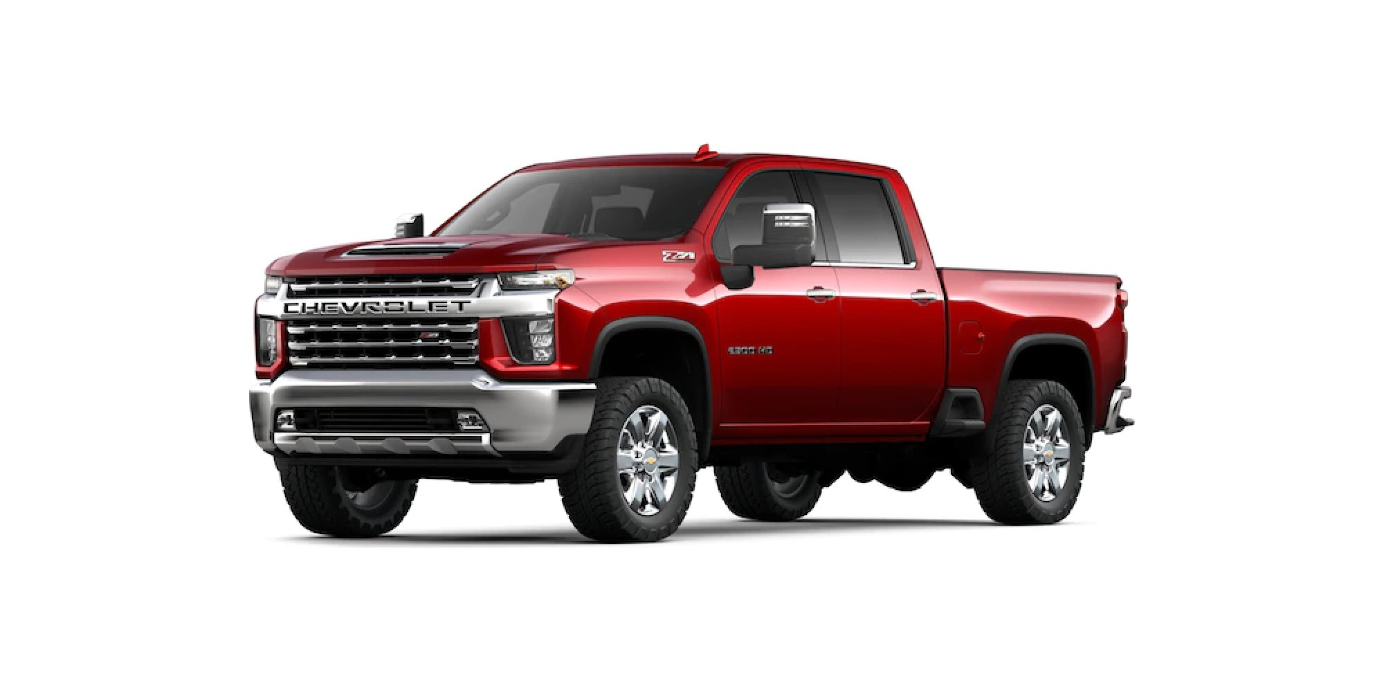 CHERRY RED TINTCOAT Silverado HD