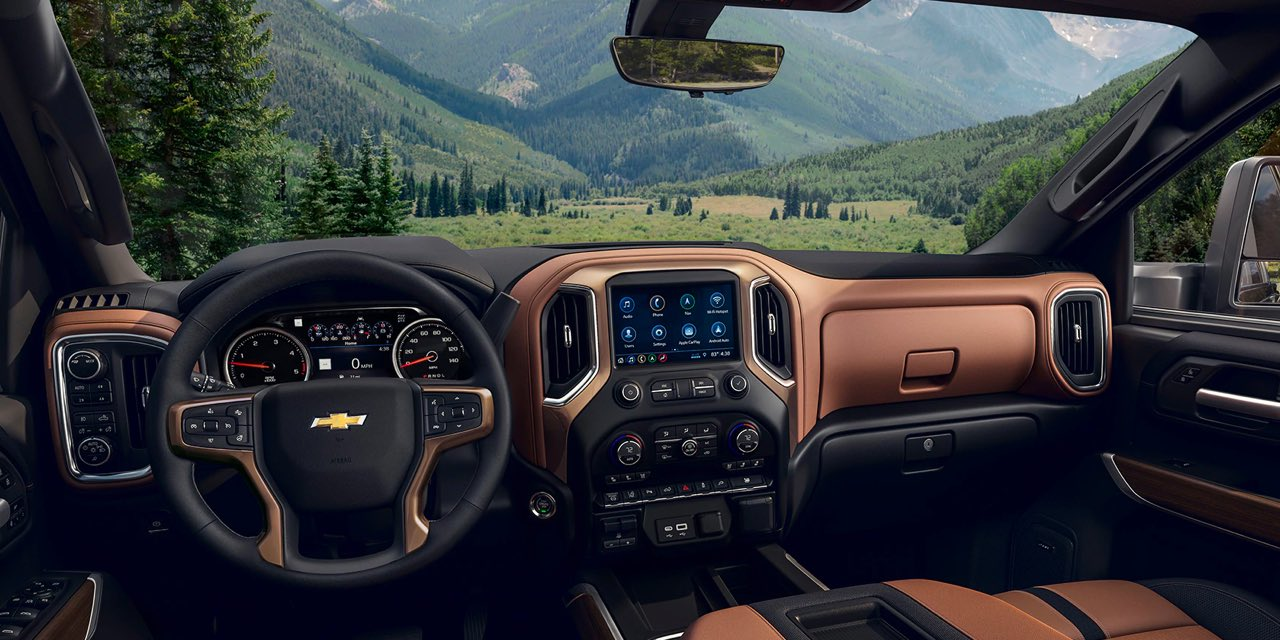 2021 Chevrolet Silverado HD Interior