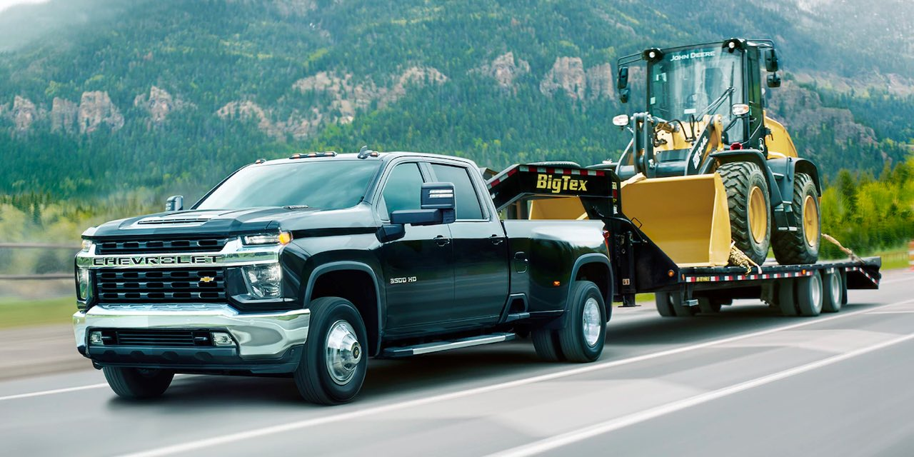 2021 Chevrolet Silverado HD Towing