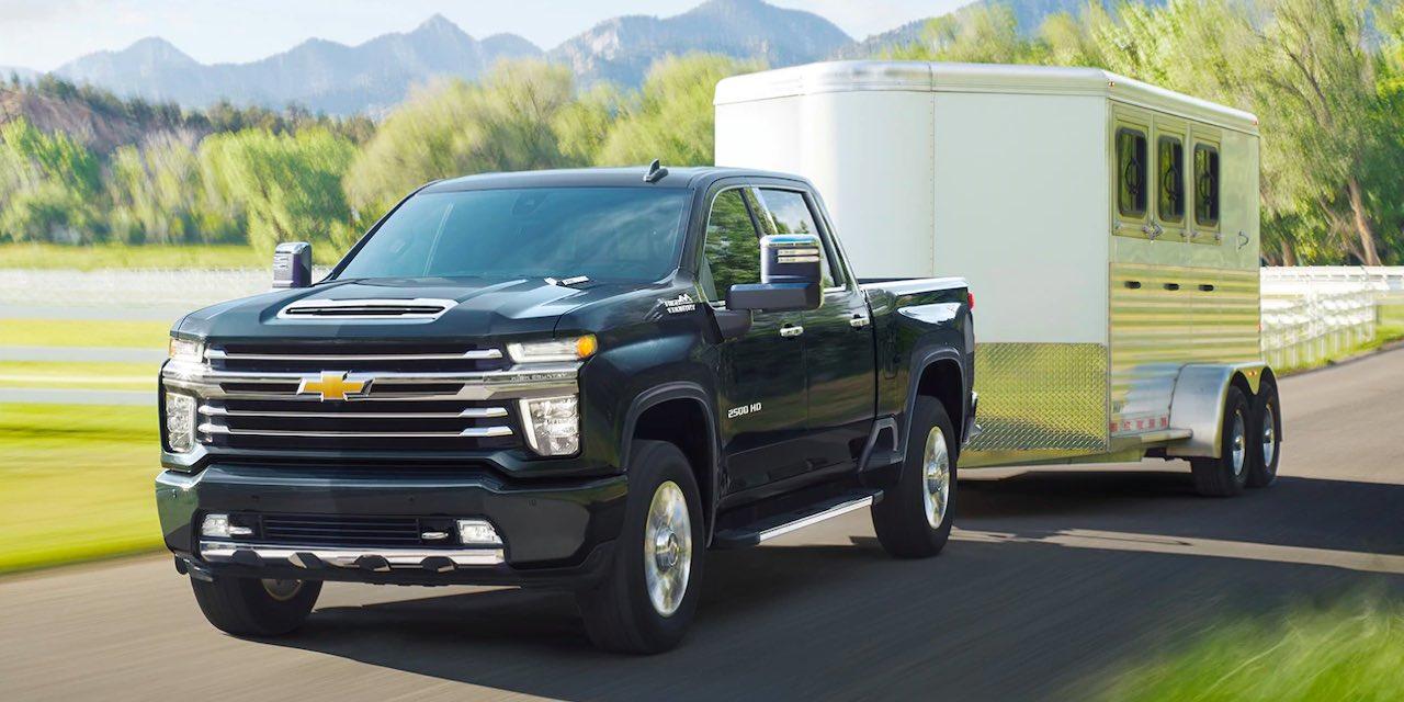 2021 Chevrolet Silverado HD Towing