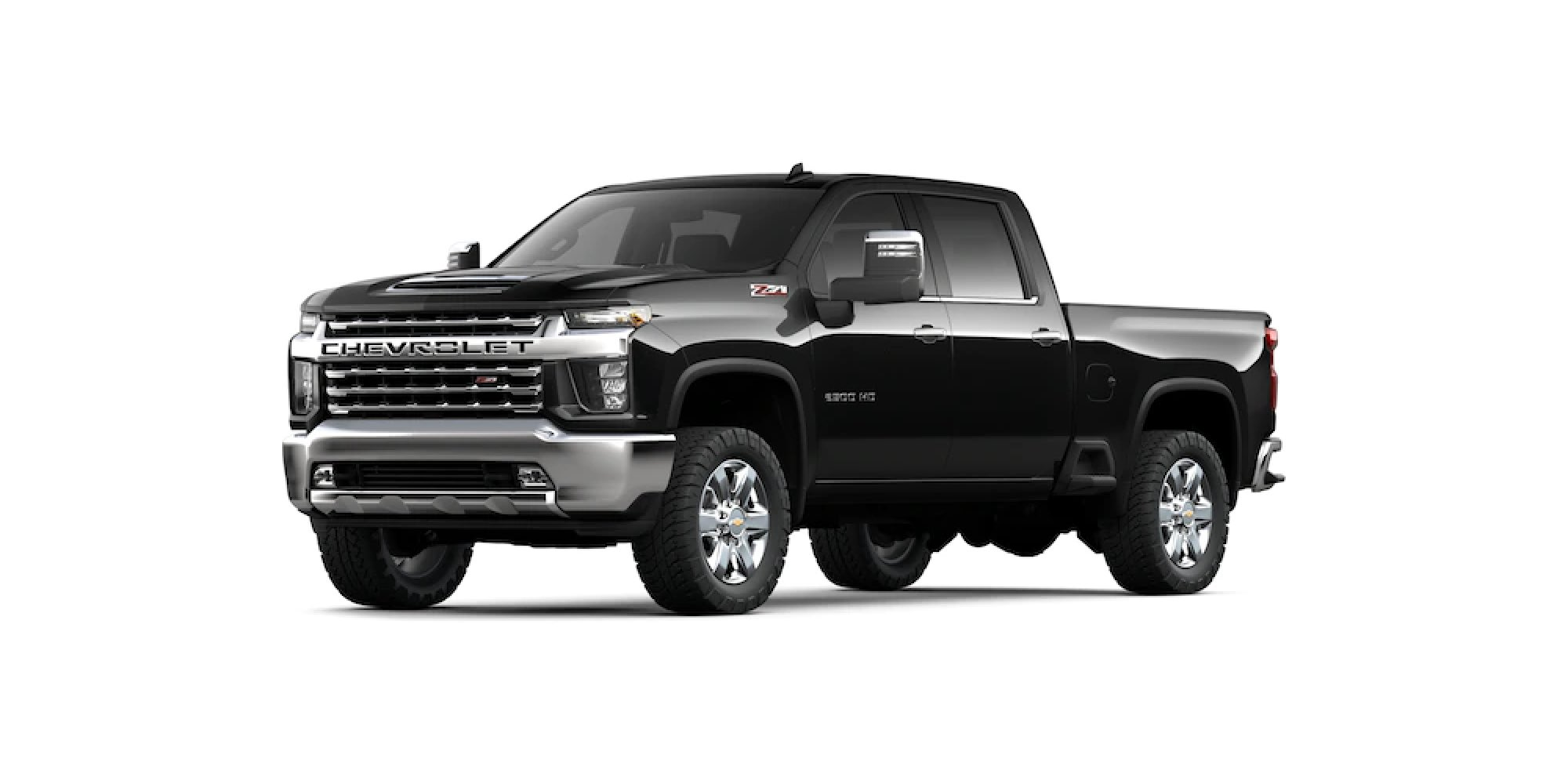 MOSAIC BLACK METALLIC Silverado HD
