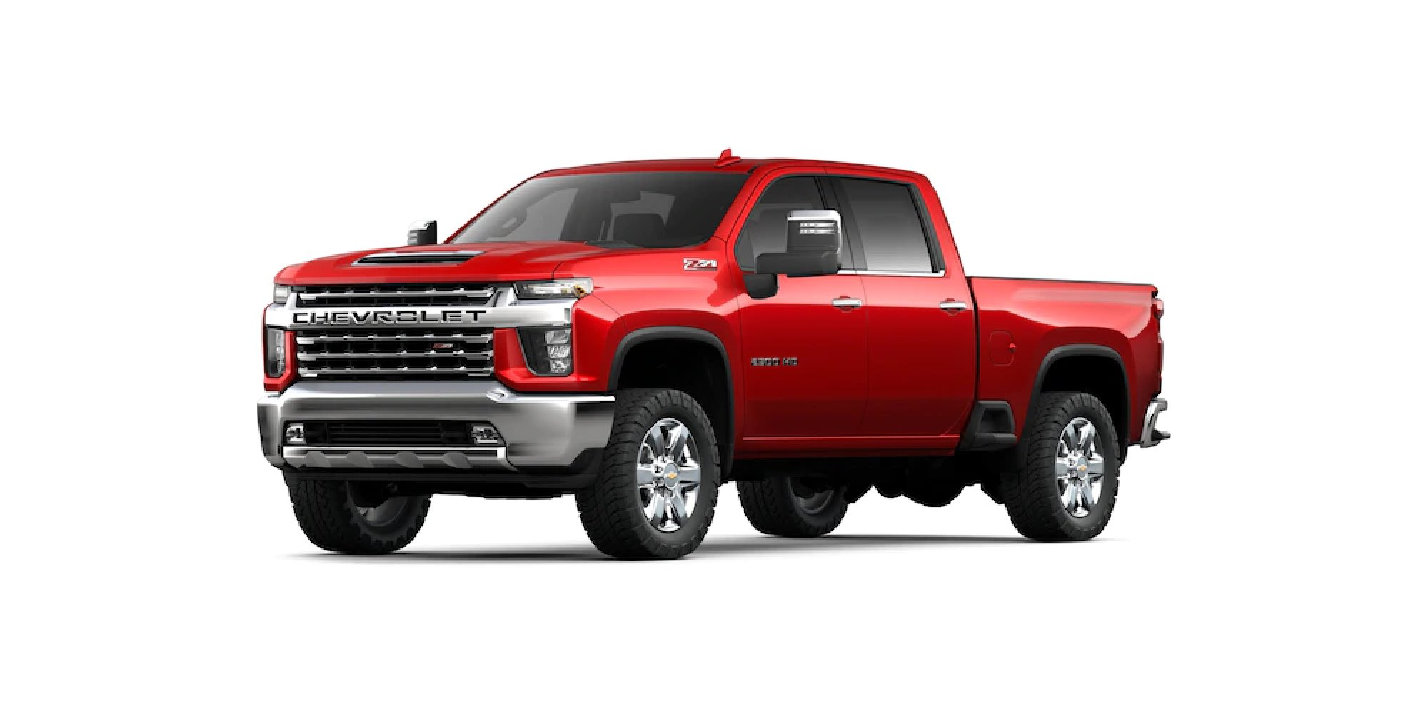 Red Hot Silverado HD