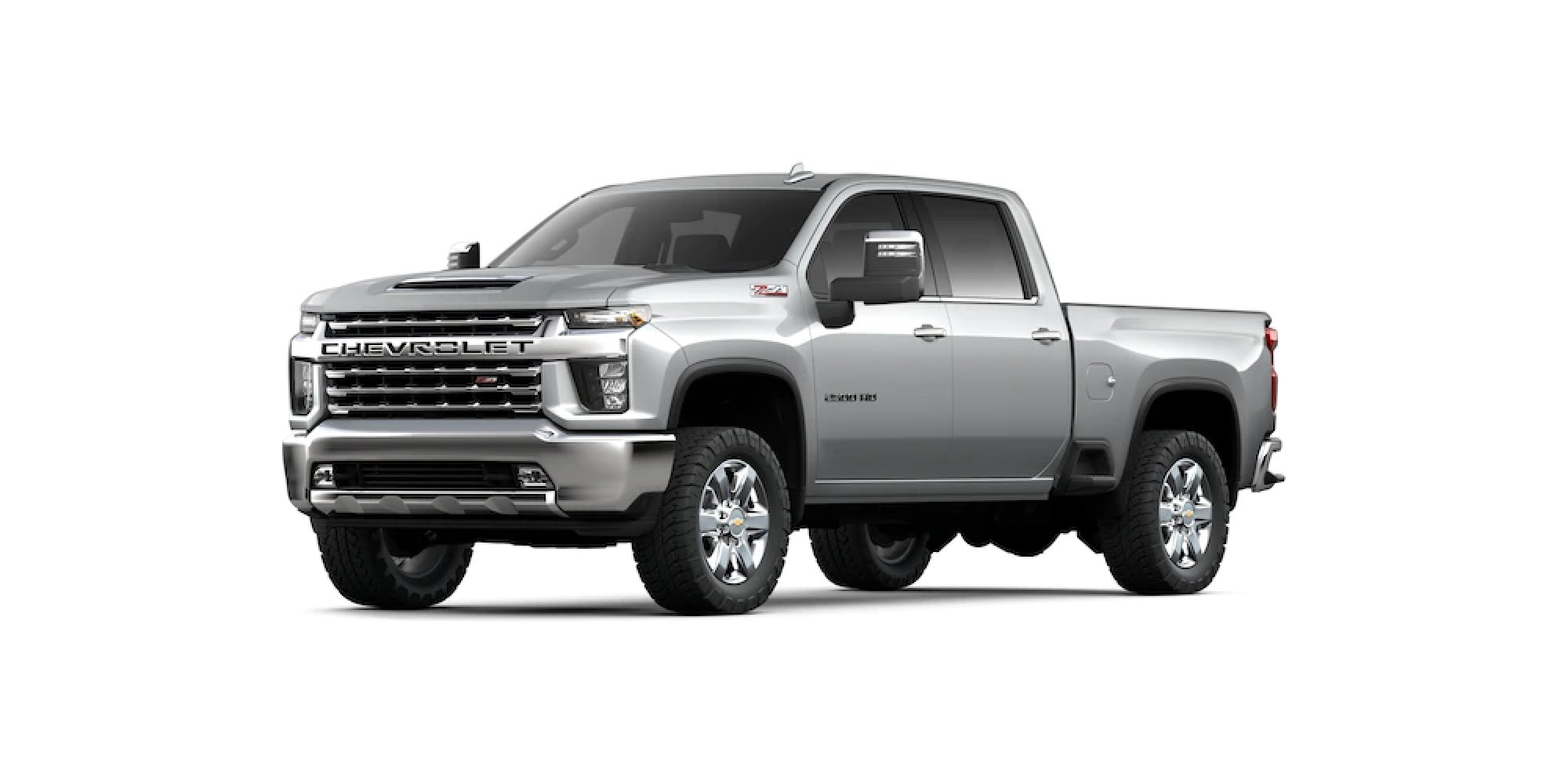 Silver Ice Metallic Silverado HD