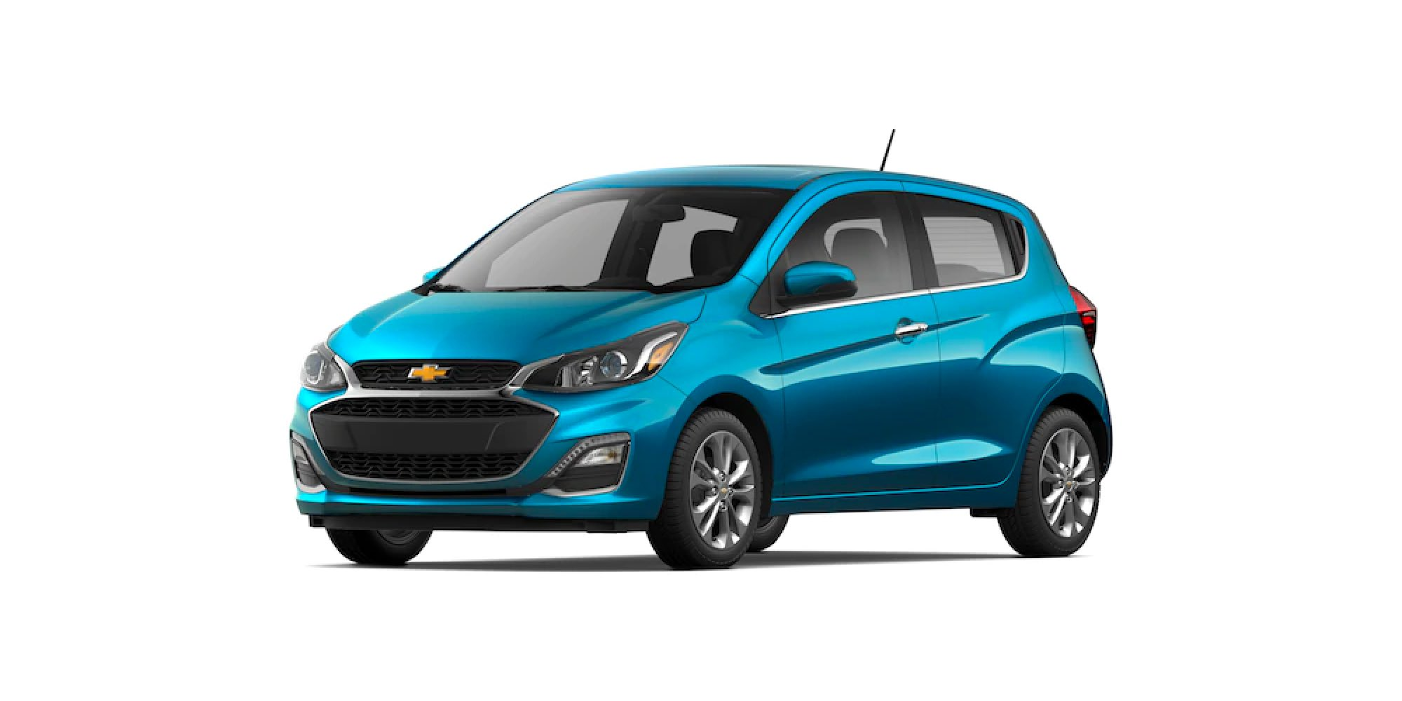 2021 Chevy Spark in Caribbean Blue