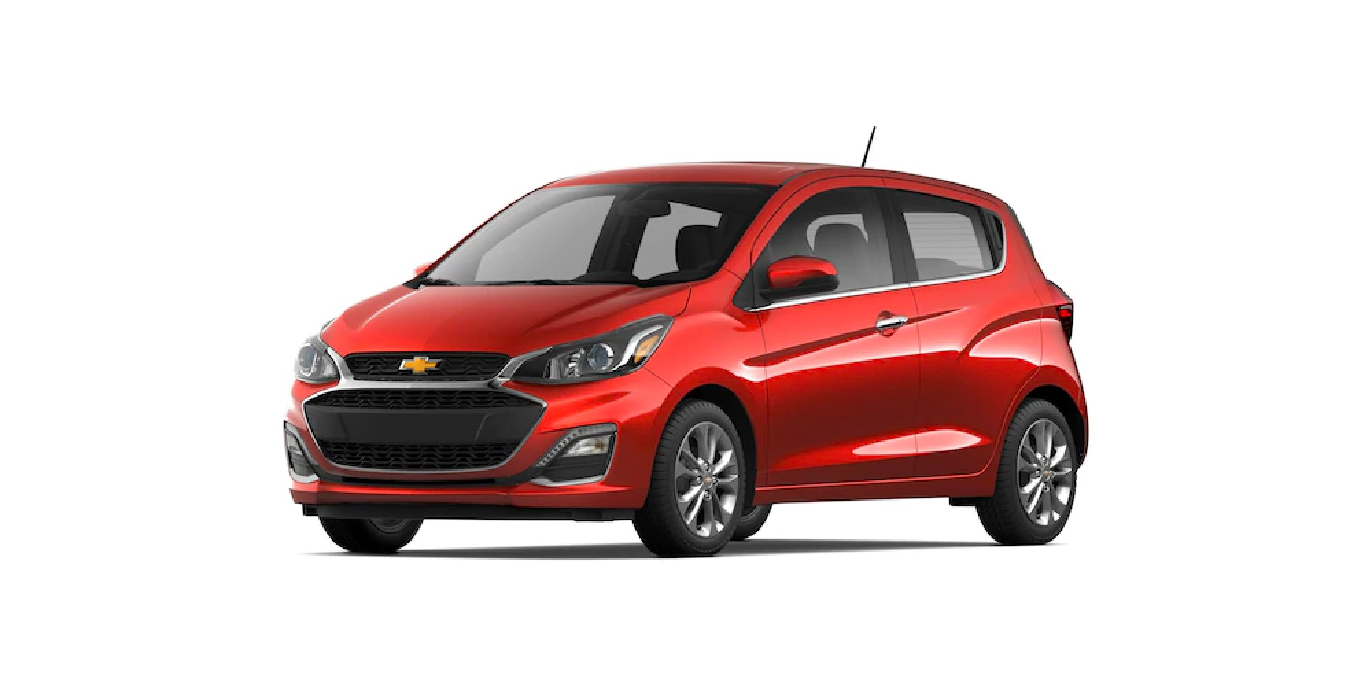 2021 Chevy Spark in Cayenne Orange