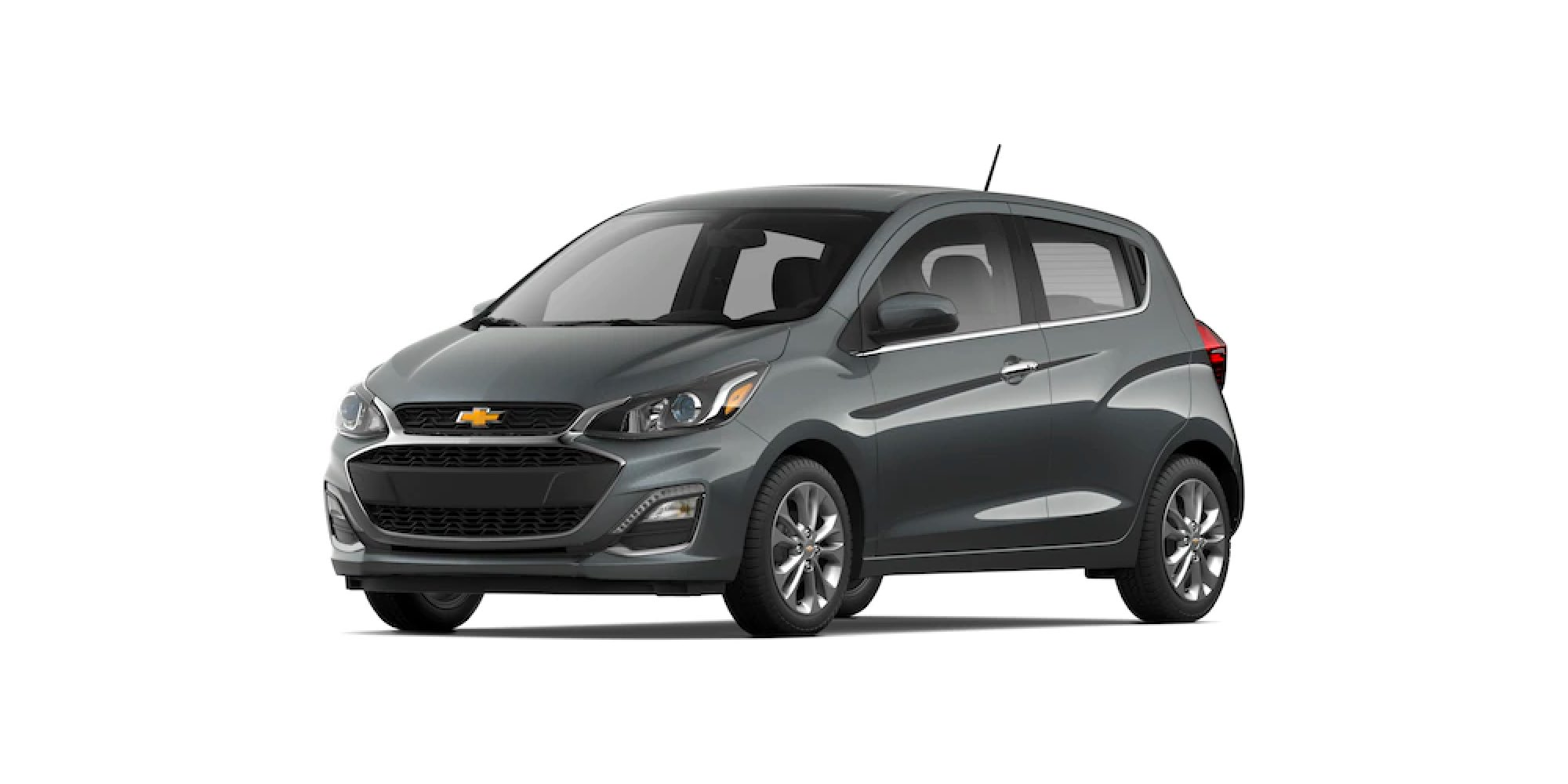 2021 Chevy Spark in Nightfall Gray