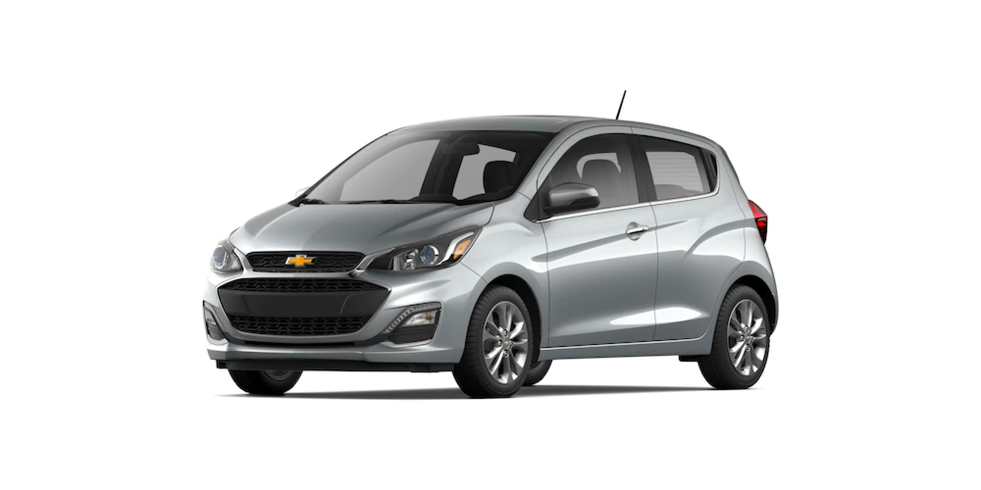 2021 Chevrolet Spark in Silver Ice
