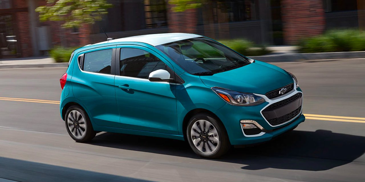2021 Chevrolet Spark fuel efficiency