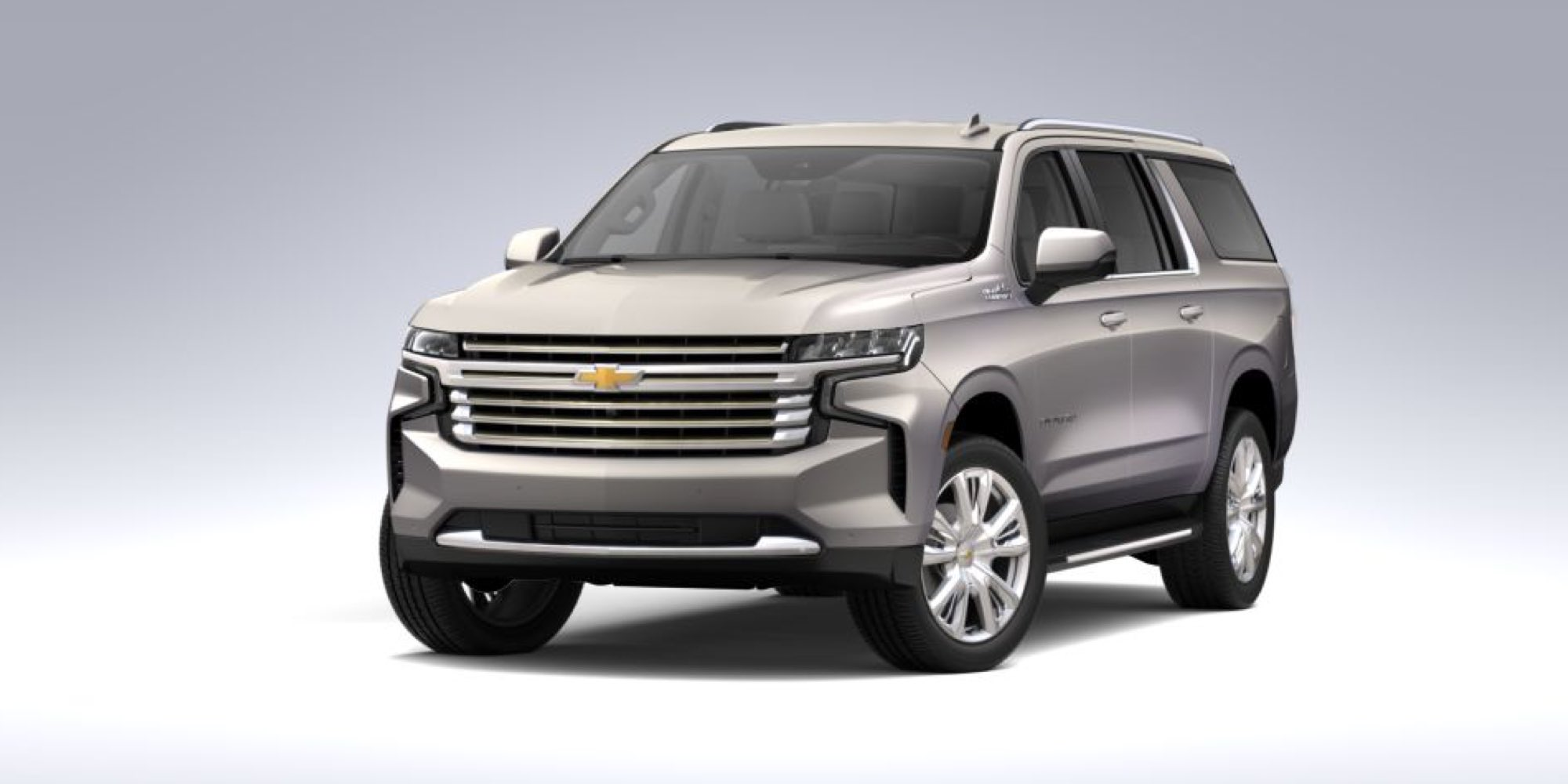 2021 Chevy Suburban in Empire Beige Metallic