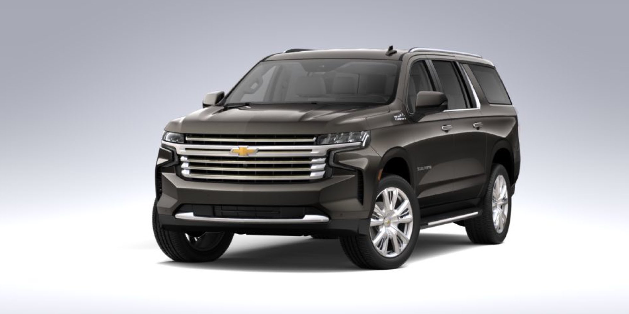 2021 Chevy Suburban in Graywood Metallic
