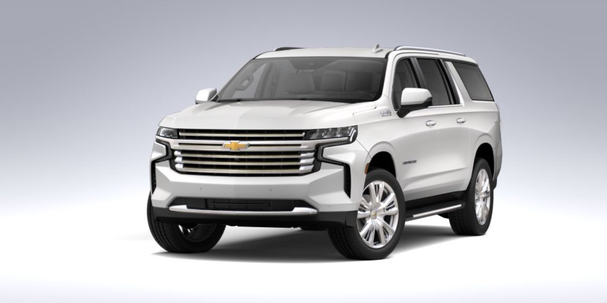 2021 Chevy Suburban in Iridescent Pearl Tricoat