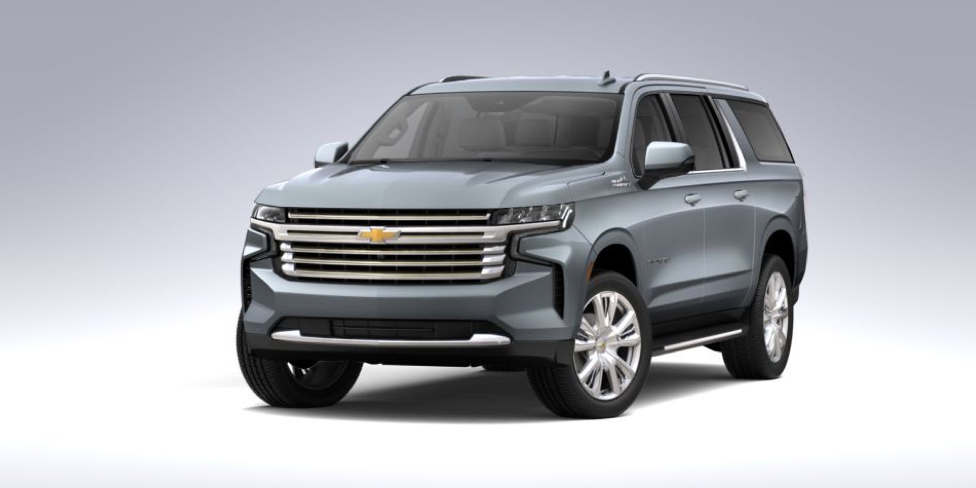 2021 Chevrolet Suburban in Satin Steel Metallic
