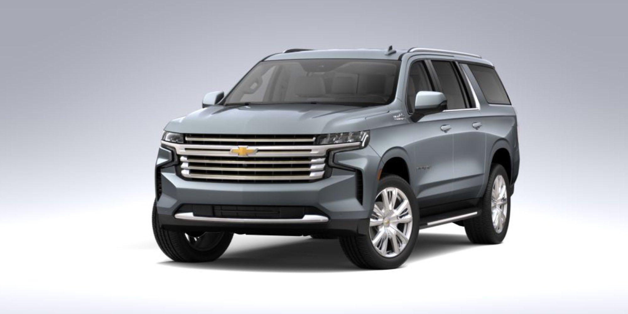 2021 Chevrolet Suburban in Satin Steel Metallic