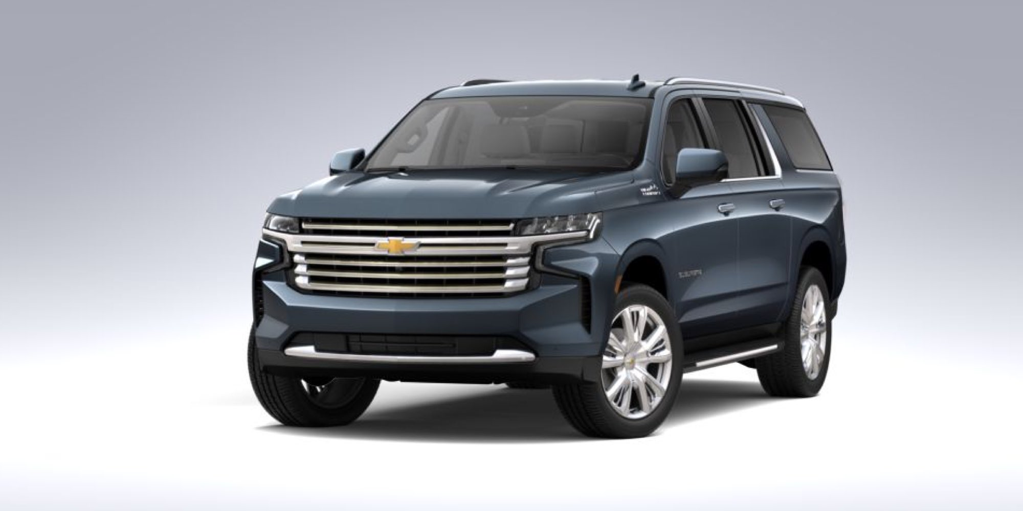 2021 Chevy Suburban in Shadow Gray Metallic