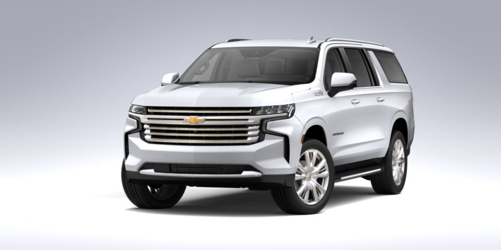 2021 Chevy Suburban in Summit White