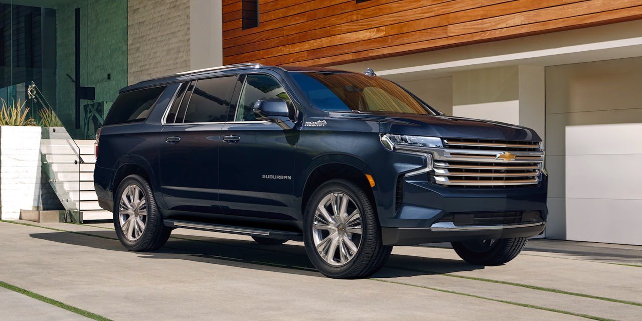 2021 Chevrolet Suburban trim levels