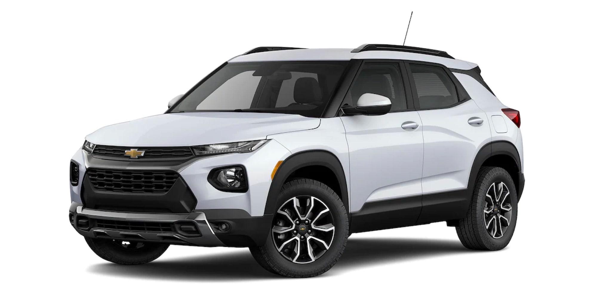 2022 Chevy Trailblazer in two-tone SUMMIT WHITE / SUMMIT WHITE