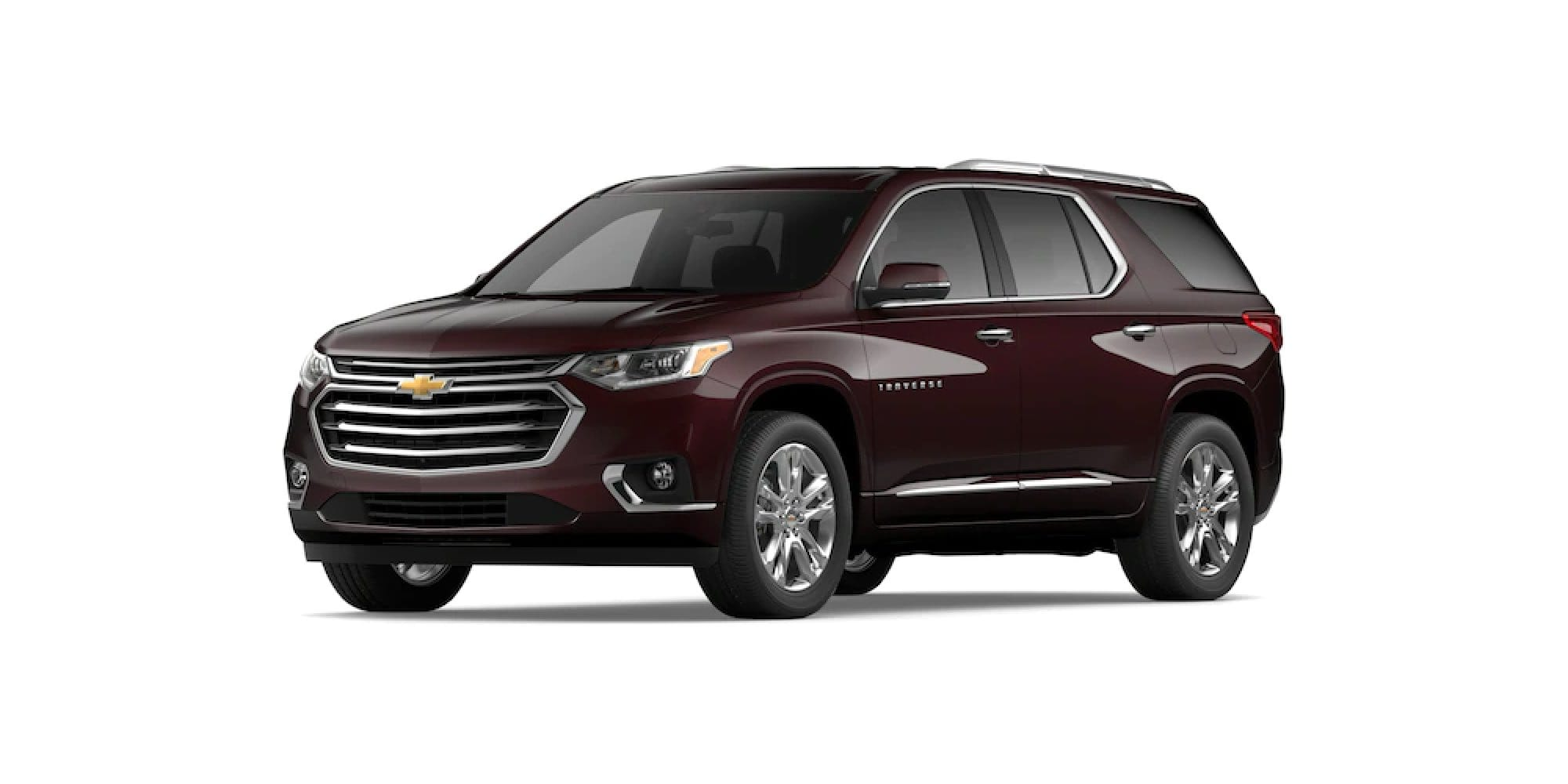 2021 Chevy Traverse in Black Cherry Metallic
