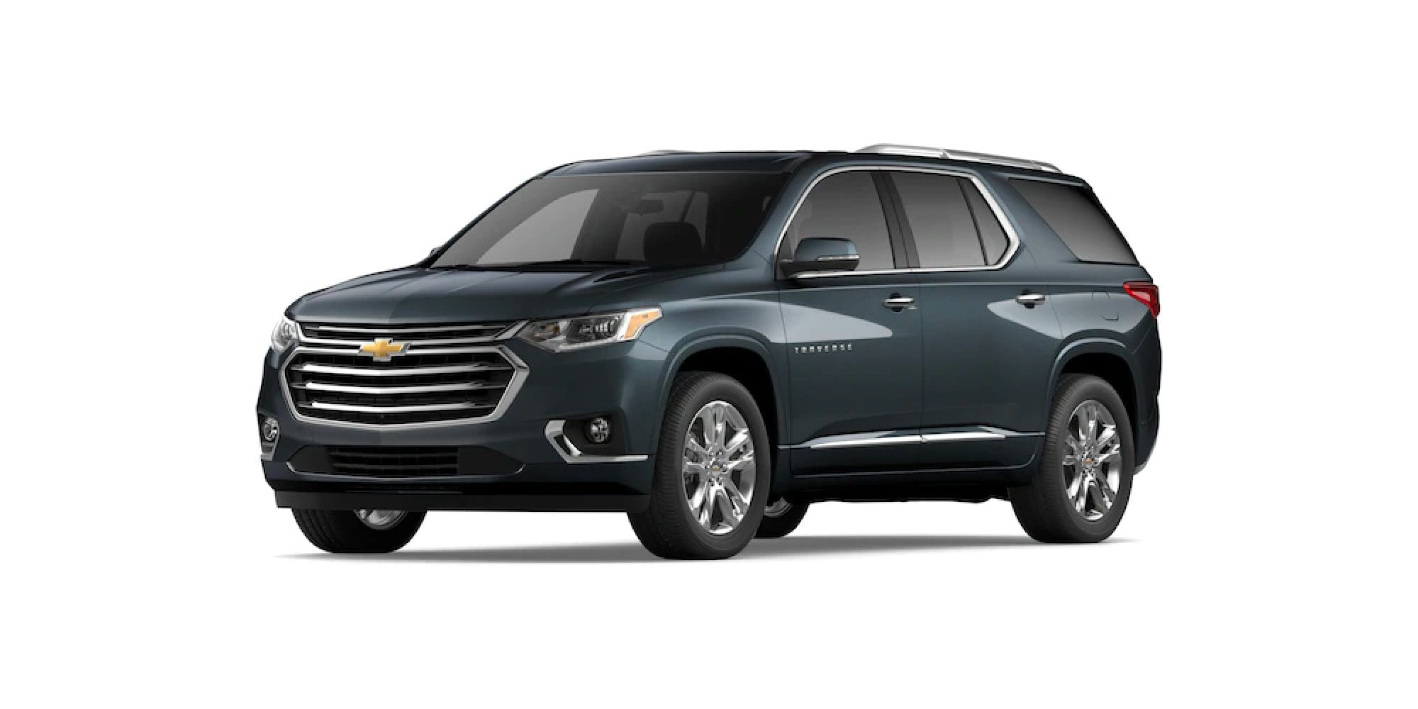 2021 Chevy Traverse in Graphite Metallic