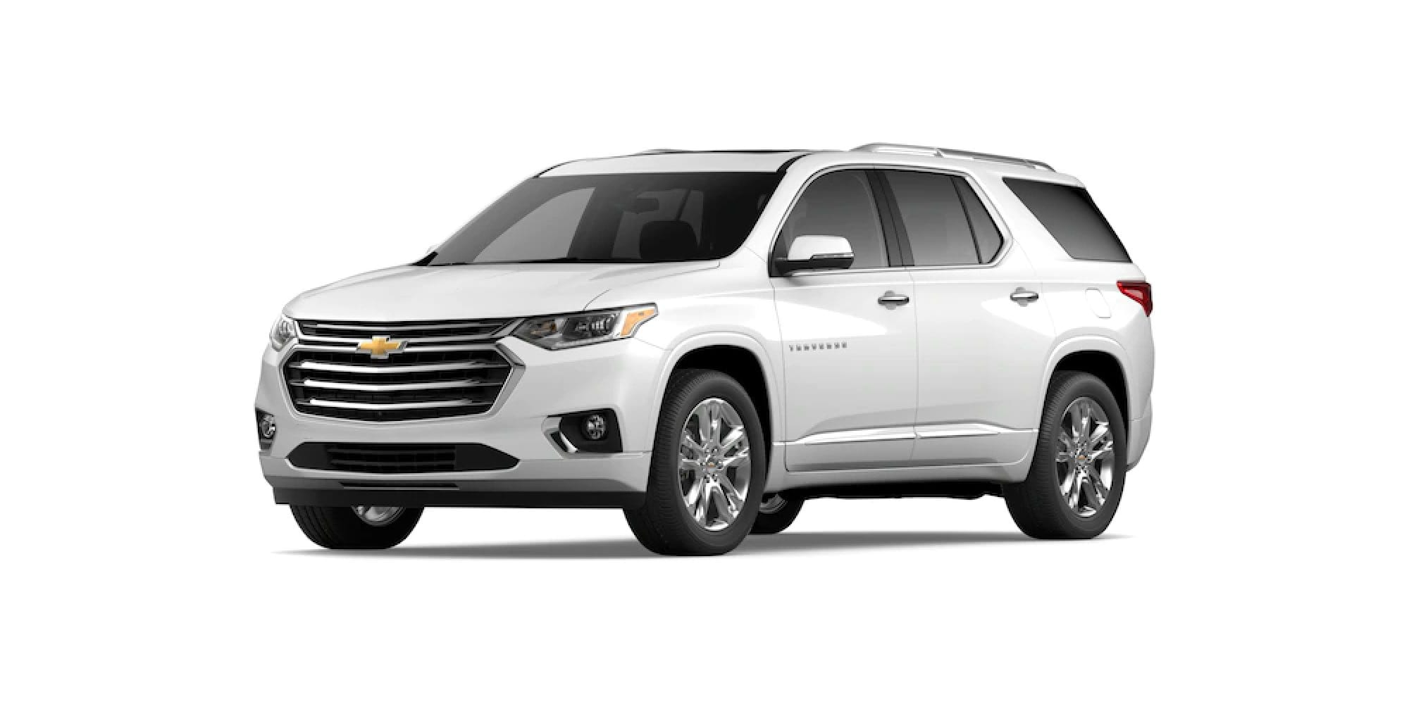 2021 Chevy Traverse in Iridescent Pearl Tricoat