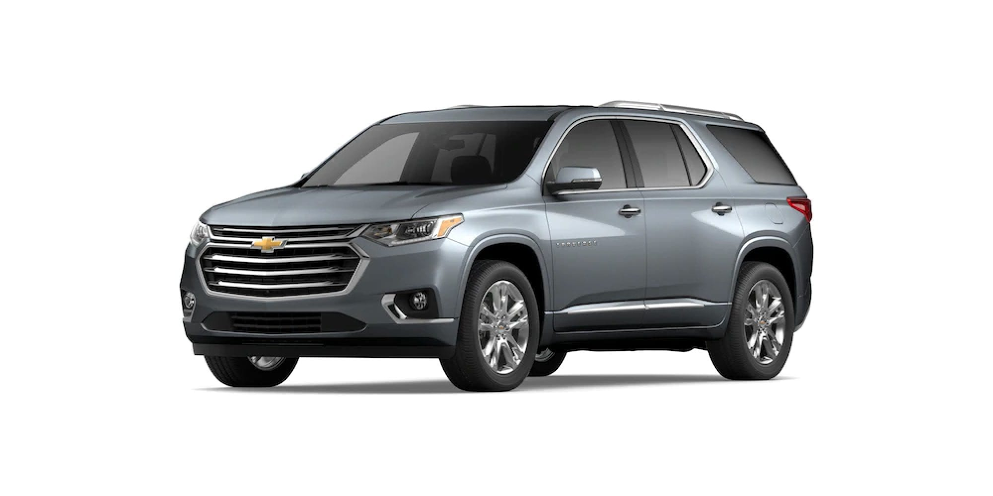 2021 Chevrolet Traverse in Satin Steel Metallic