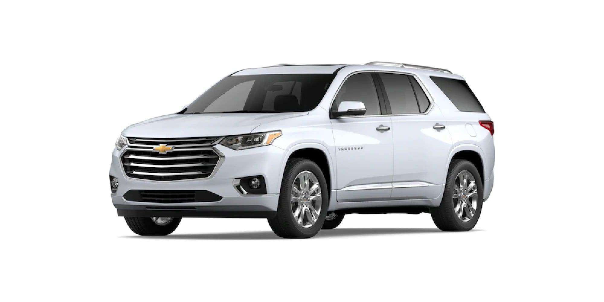 2021 Chevy Traverse in Summit White