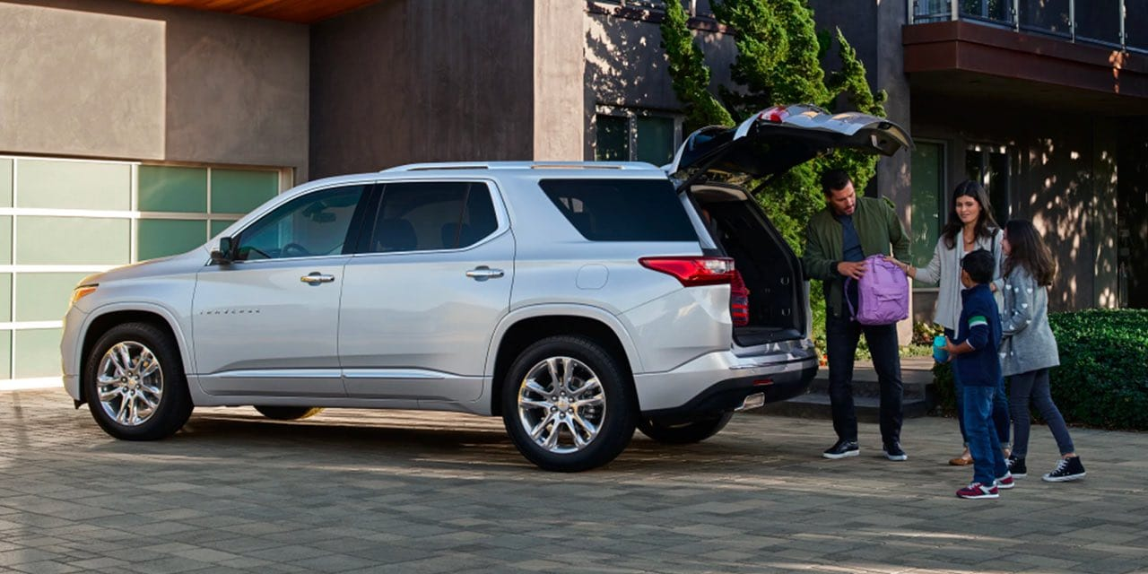 2021 Chevy Traverse Trunk