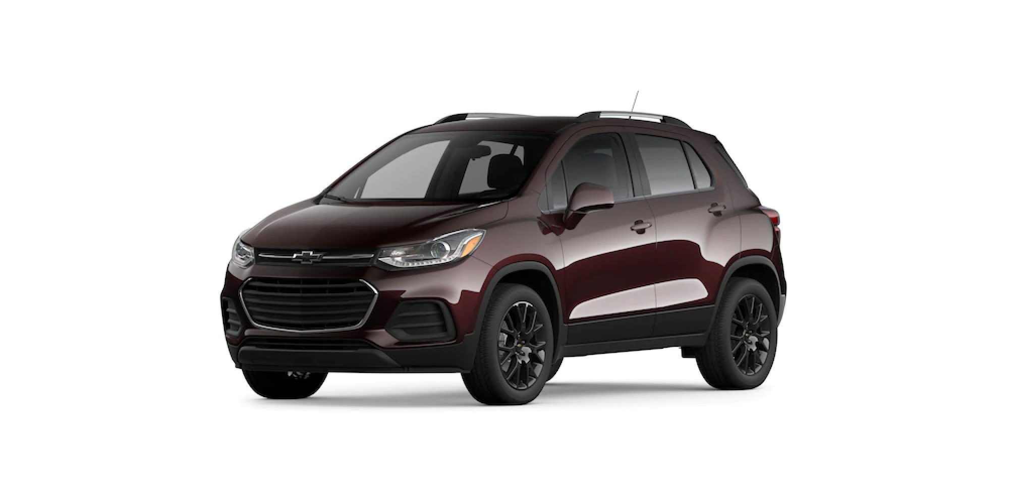 2021 Chevy Trax in Black Cherry Metallic