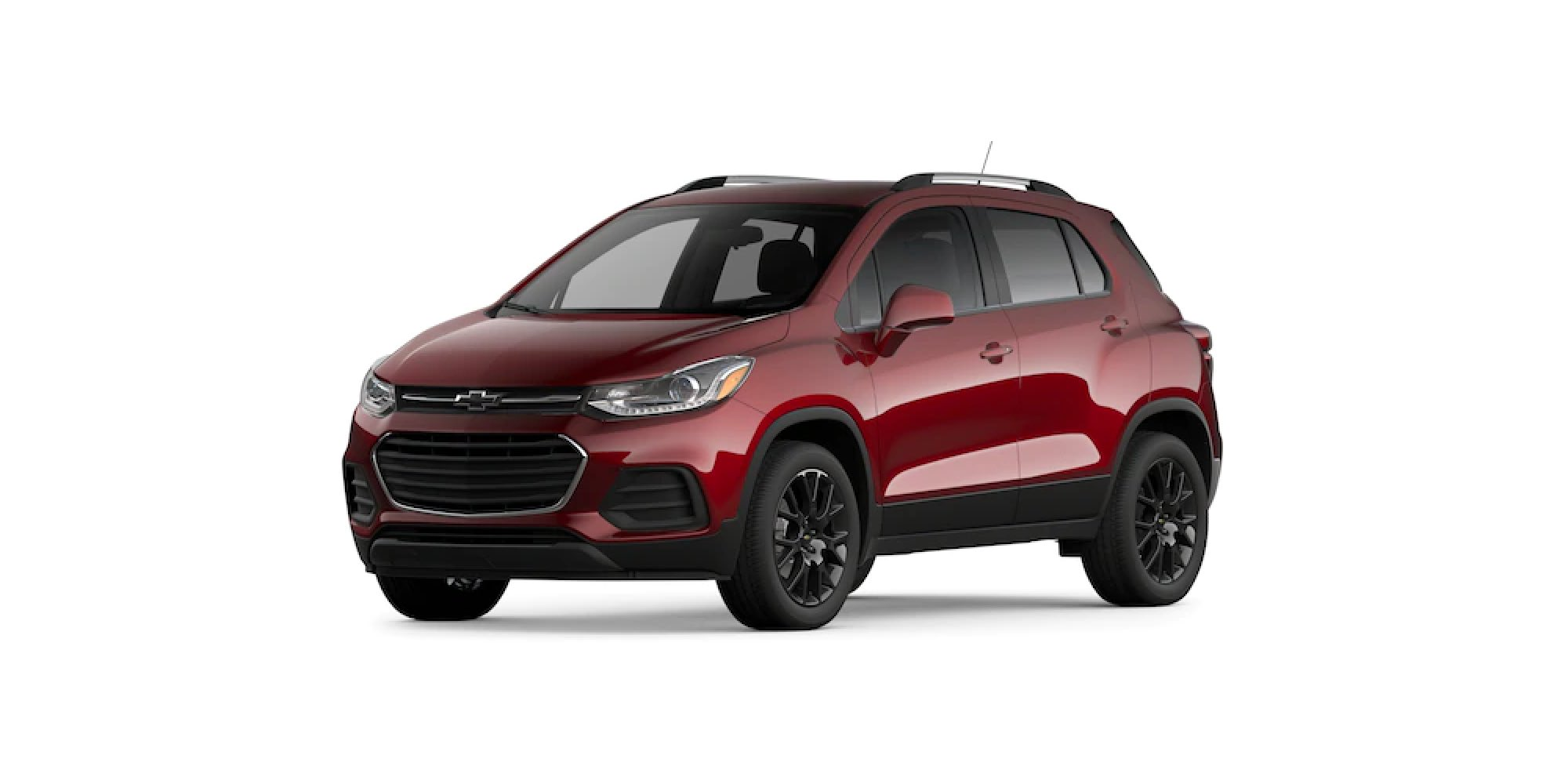 2021 Chevy Trax in Crimson Metallic