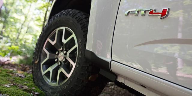 2021 GMC Canyon AT4 wheels & tires