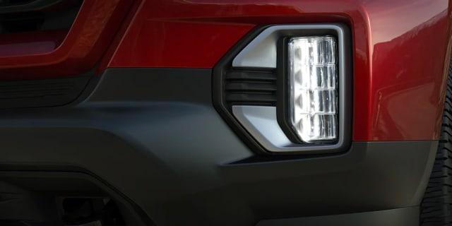 2021 GMC Canyon led fog lights