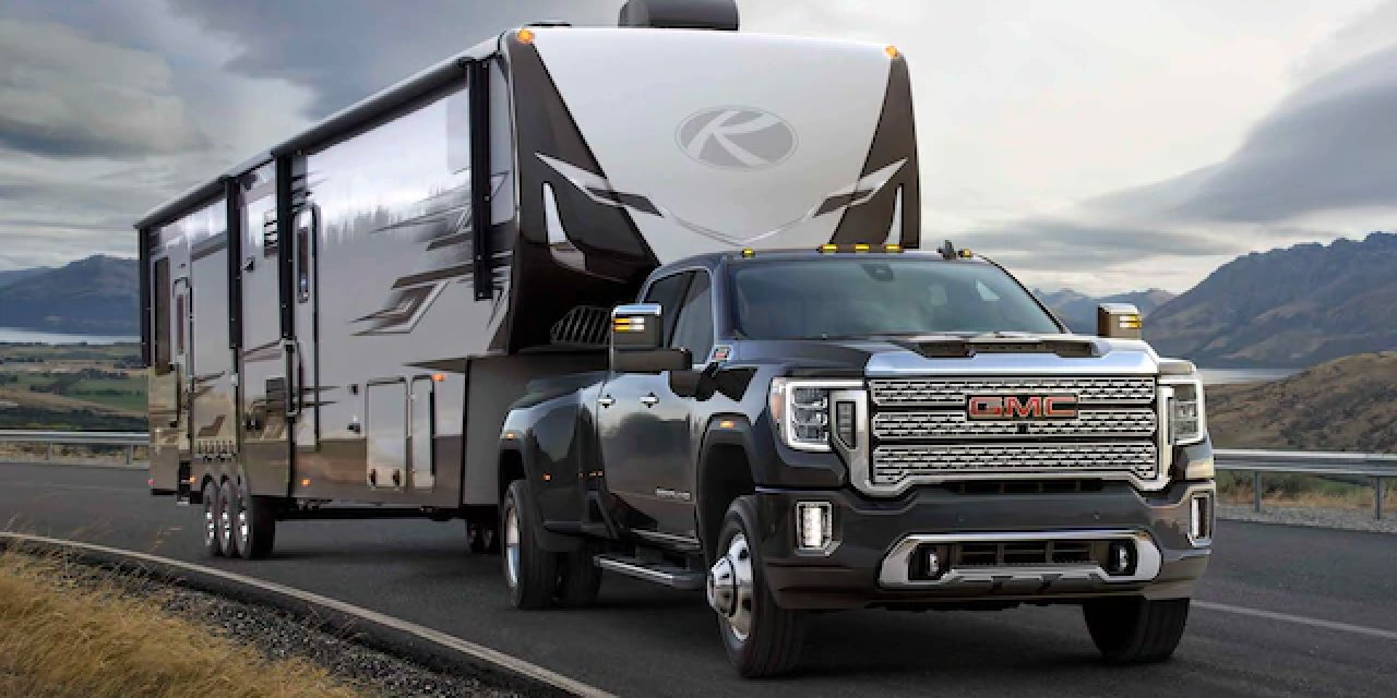 2021 GMC SIERRA HEAVY DUTY Towing
