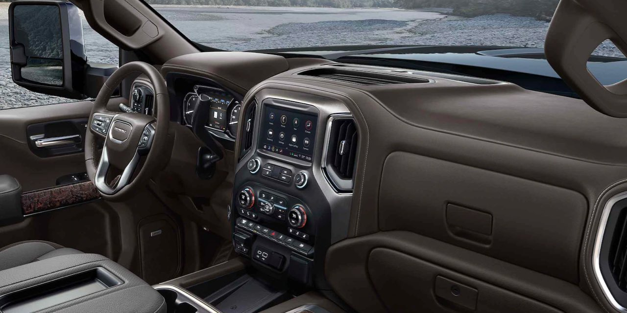 2021 GMC SIERRA HEAVY DUTY Interior