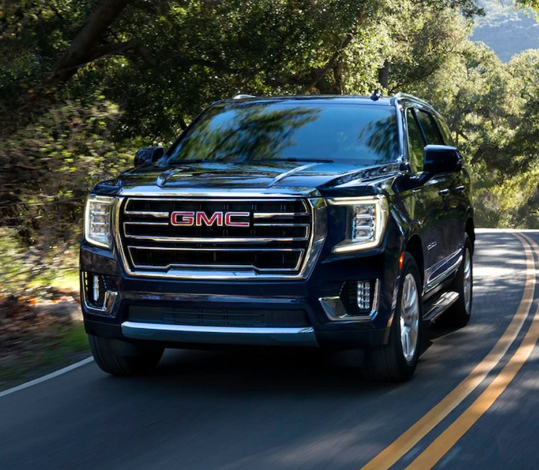 2021 GMC Yukon driving