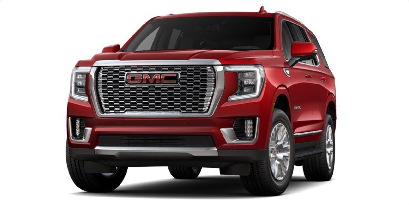 2021 GMC Yukon in Cayenne Red Tintcoat