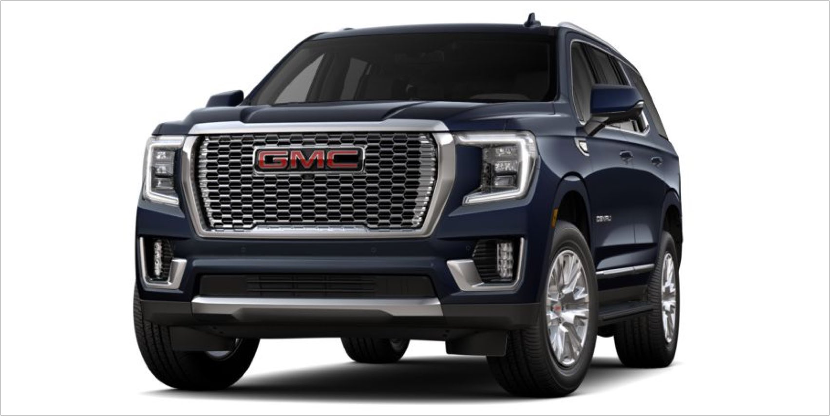 2021 GMC Yukon in Midnight Blue Metallic