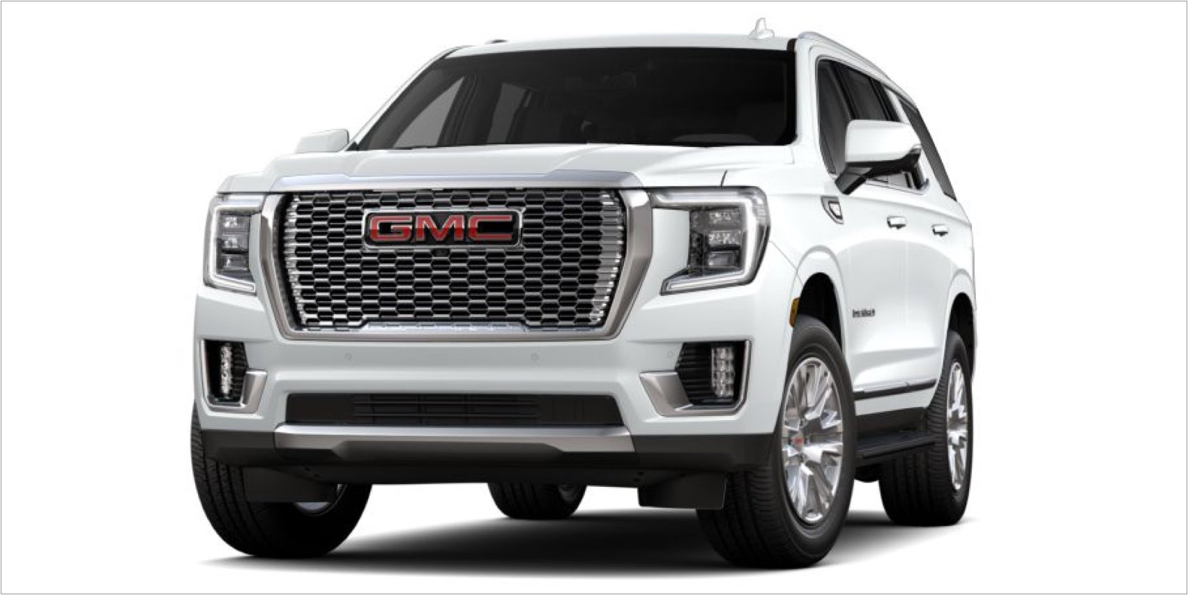 2021 GMC Yukon in Summit White