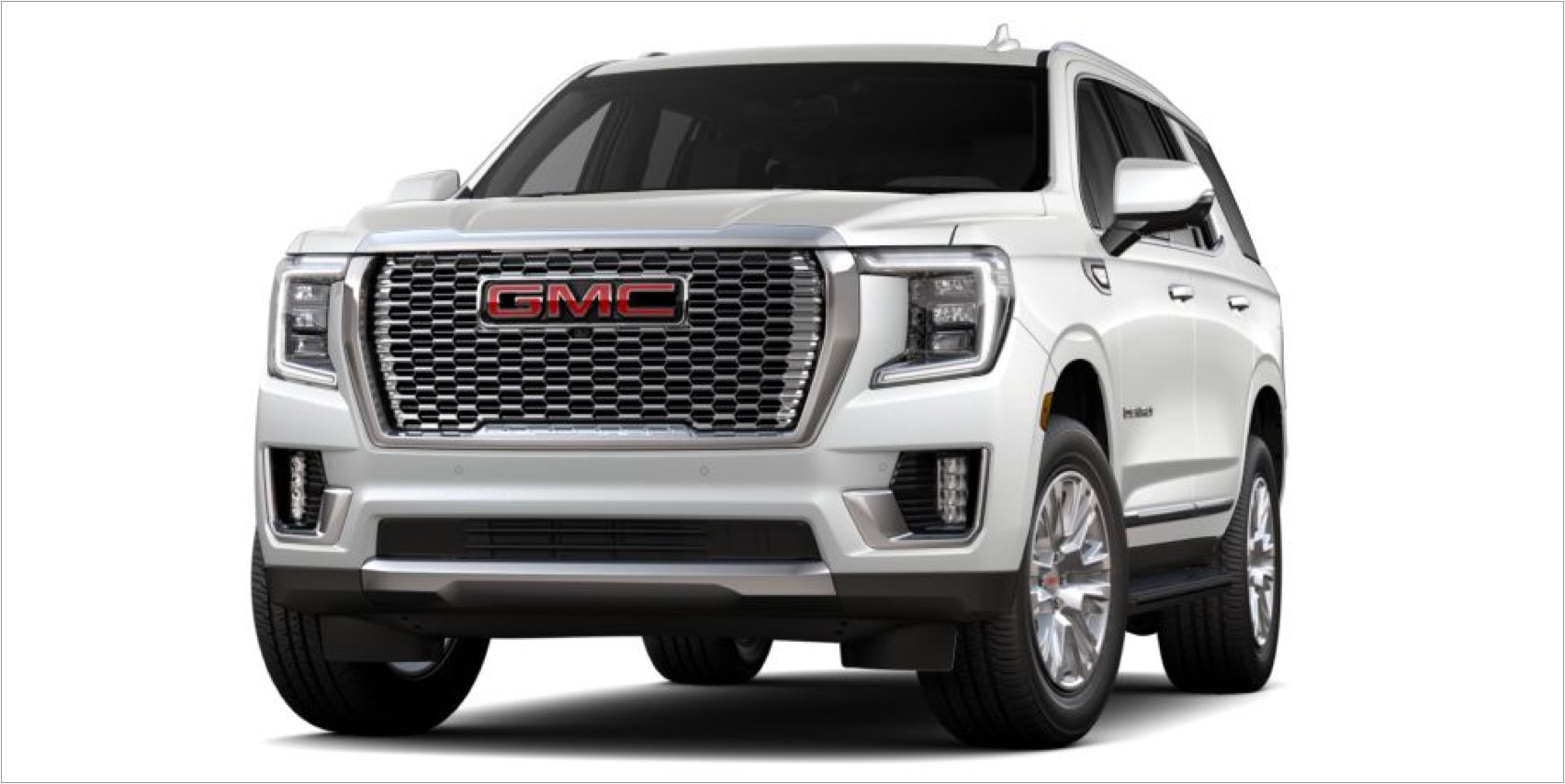 2021 GMC Yukon in White Frost Tintcoat