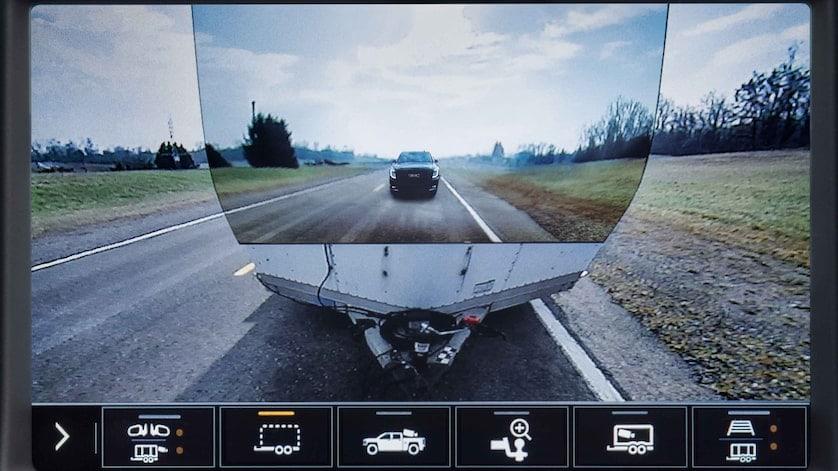 GMC Sierra Transparent Trailer View