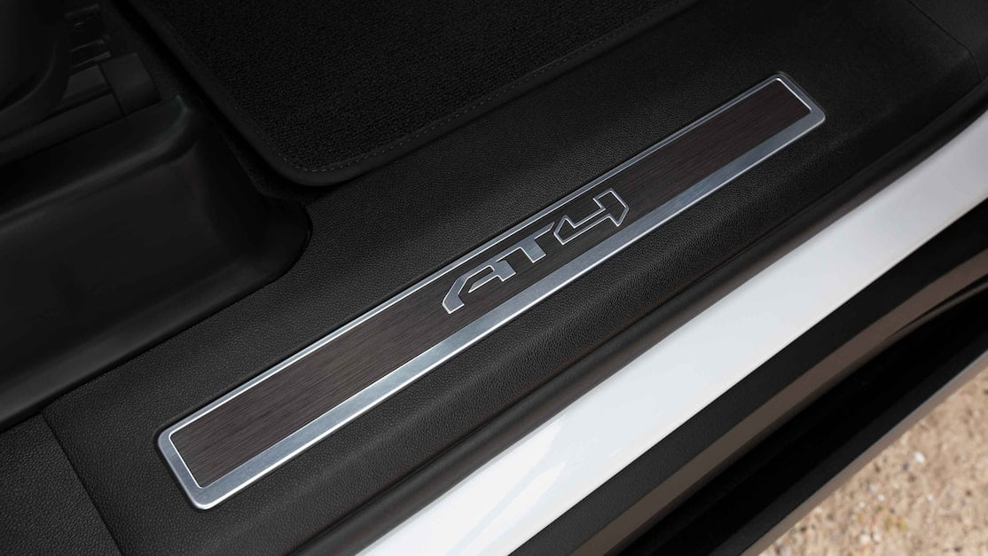 GMC AT4 exclusive sill plates