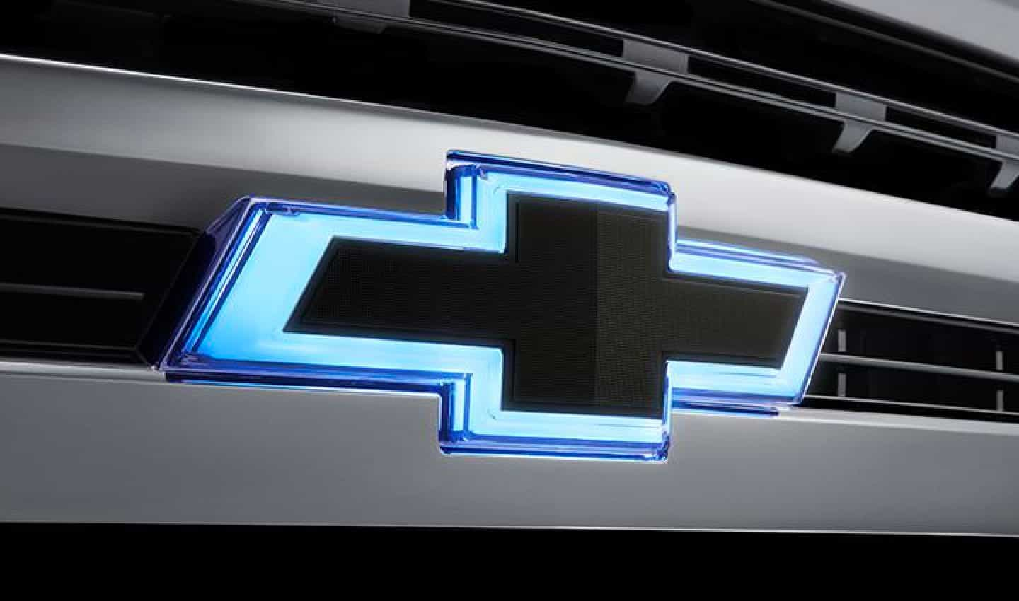 Chevrolet Bowtie with lights