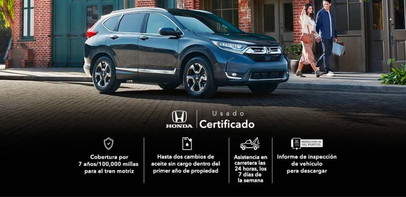 Honda Usados Certificados, Inspección de 182 Puntos, Garantía Limitada de 7 Años, Informe Historial del Vehículo es Gratis