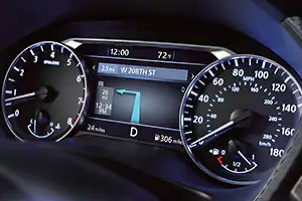 Digital Display Featuring Turn By Turn Navigation