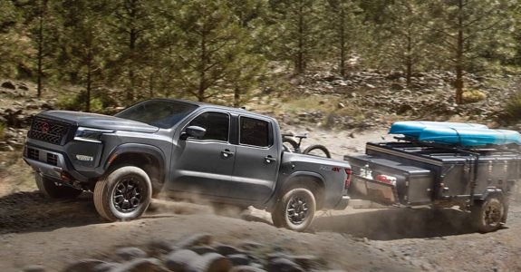 2022 Nissan Frontier towing